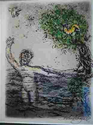 Marc Chagall Signed From The Odyssey Suite CO EDIT