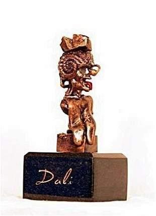 Amazing S Dali Bronze Sculpture Portrait Of Picasso