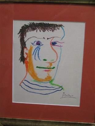 Picasso Original signed Le Gout du Bonheur Coll