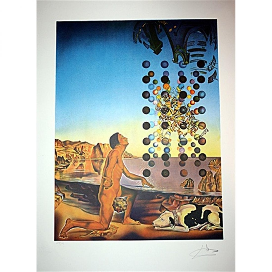 Dali Original Handsigned & Number Litho-Dali,Dali,Dali