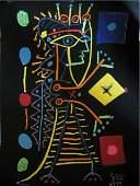 Pablo Picasso Original Jacqueline-La Dame aux Dées