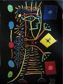 Pablo Picasso Original Jacqueline-La Dame aux Dées COA