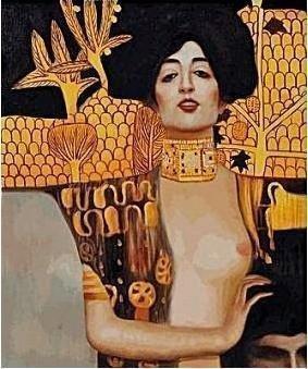 """Signed Limited Edition Oil """"Judith Klimt I"""" 1/10"""