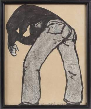 FROM RON WOOD COLLECTION ANDY WARHOL OWNED/CHUCK ARNETT