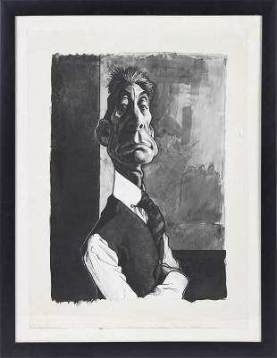 FROM RON WOOD COLLECTION CHARLIE WATTS BY S KRUGER