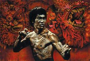 FROM RON WOOD COLLECTION BRUCE LEE- AP-STEVEN HOLLAND