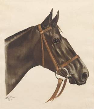 RON WOOD COLLECTION - 231 WALLACE EQUINE SIGNED ARTWORK