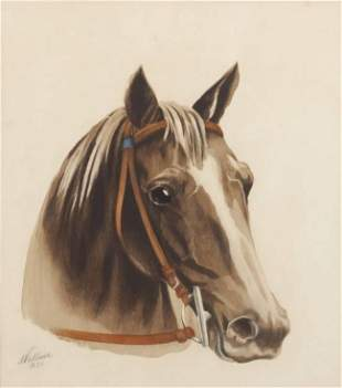 RON WOOD COLLECTION - 564 WALLACE EQUINE SIGNED ARTWORK