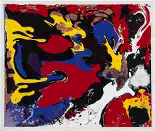 FROM RON WOOD COLLECTION - GIFT PAINTING BY LEAH WOOD