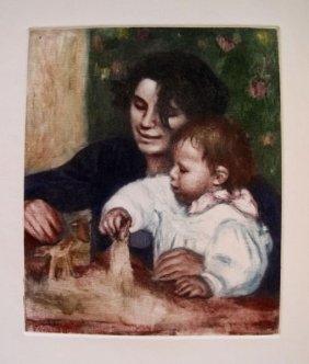 Pierre-auguste Renoir (gabrielle & Jean ) A Vollard Col