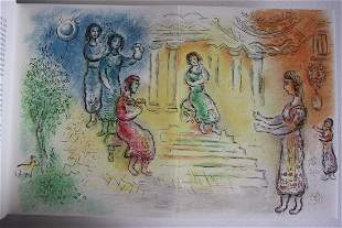 M Chagall Original Signed Lithographs Odyssee Serie