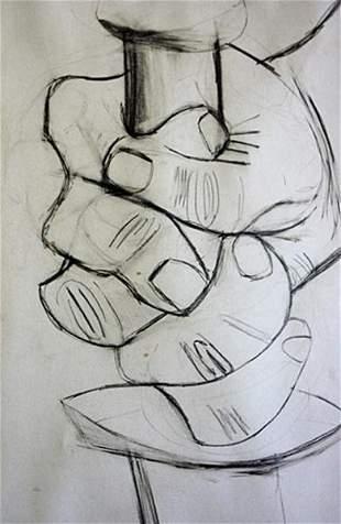 Pablo Picasso Offset -1st.Mai.37 Study # 2 Guernica COA