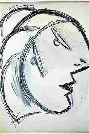 Pablo Picasso Offset -1st.Mai.37 Study # Guernica COA
