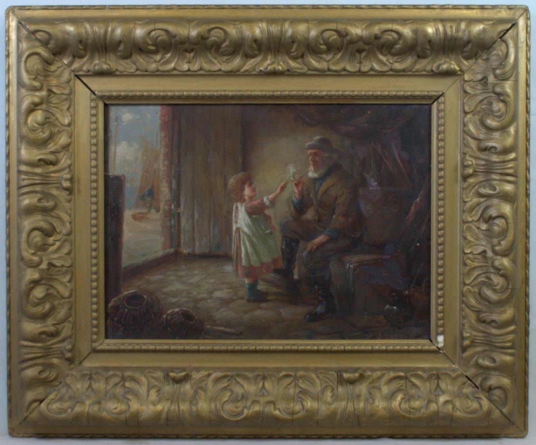 Alexander AUSTEN active 1881-1909 British Oil/CANVAS