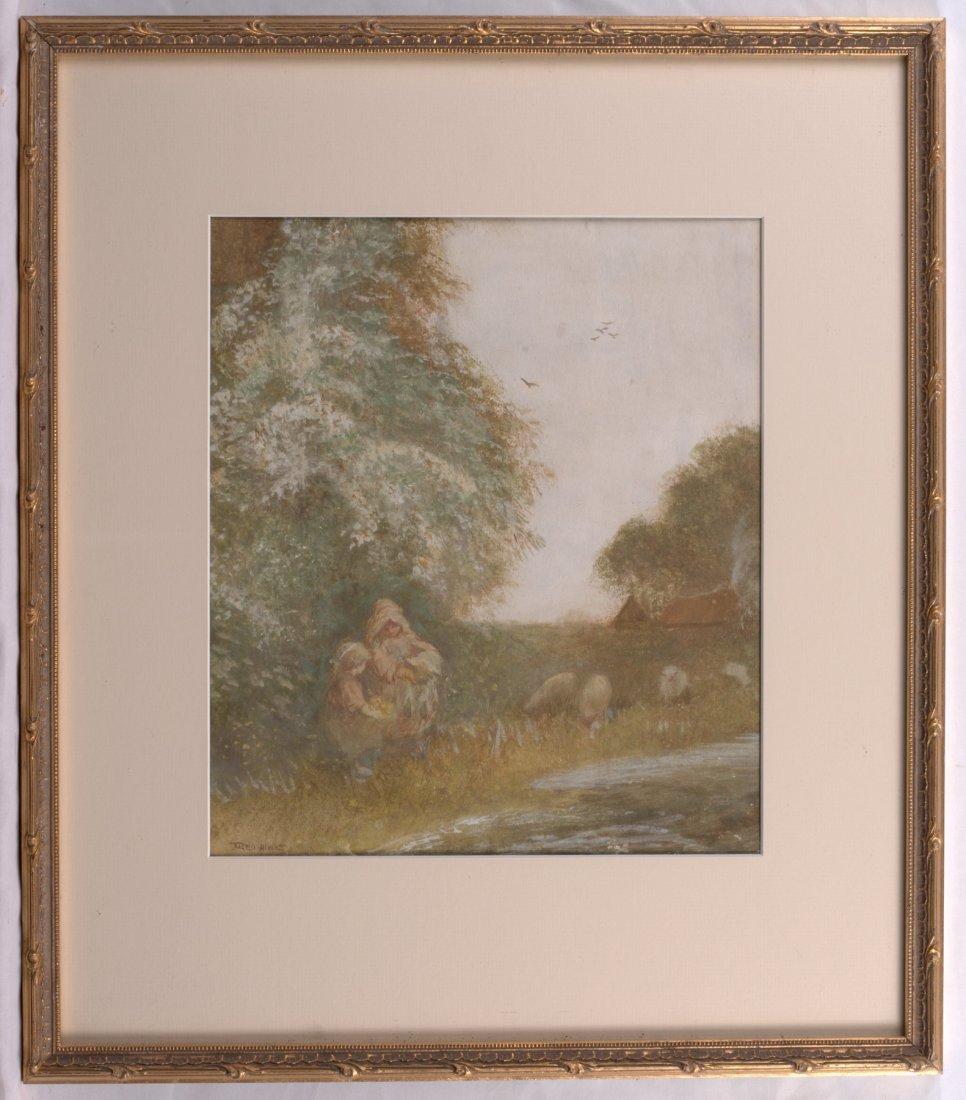 FREDERICK HINES ACTIVE 1875-1928 British Watercolour