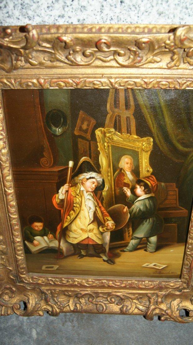 LOT OF 2 - Johann Grund 1808-1887 AUSTRIAN, CHILDREN - 2