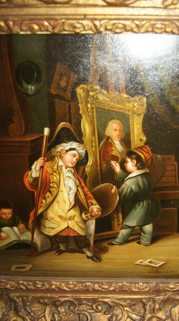 LOT OF 2 - Johann Grund 1808-1887 AUSTRIAN, CHILDREN - 3