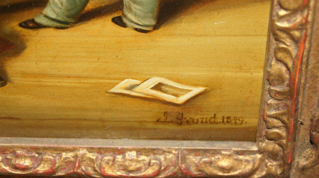 LOT OF 2 - Johann Grund 1808-1887 AUSTRIAN, CHILDREN - 7