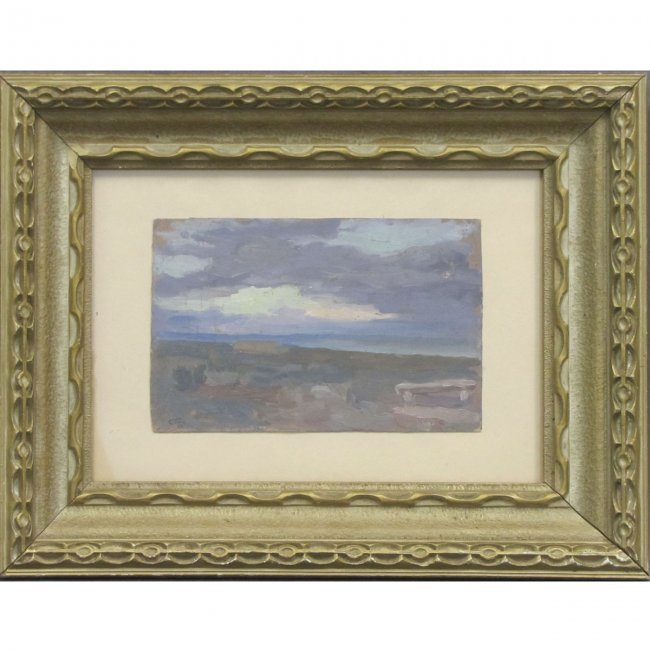Sviatoslav ROERICH RUSSIAN 1904-1993 OIL / BOARD DATED