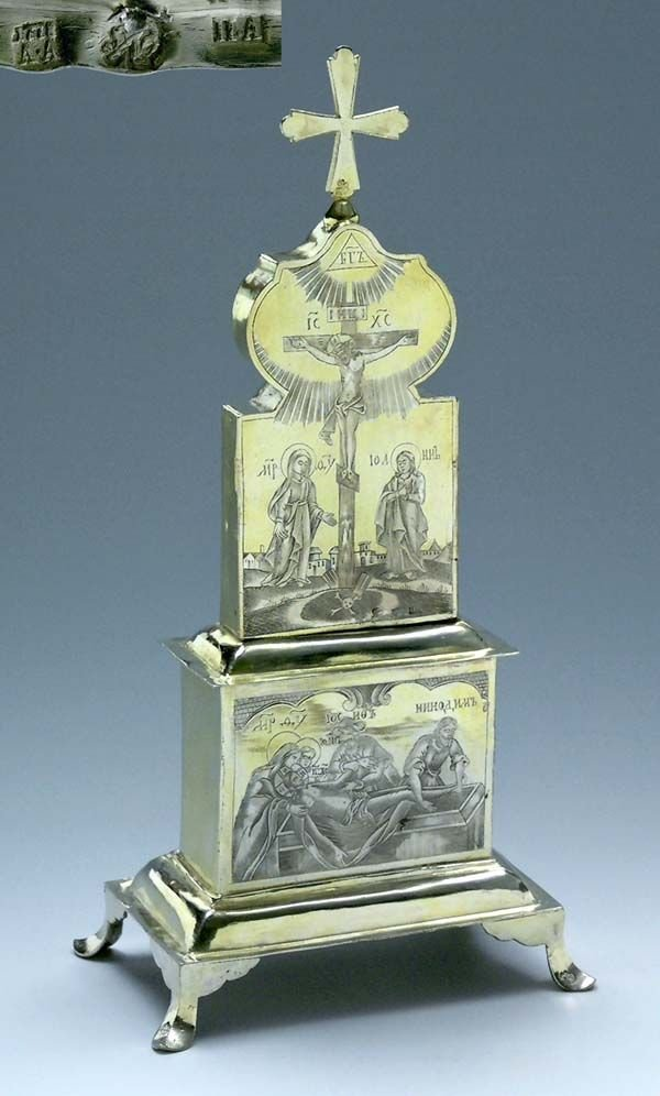 Russian home altar - MOSCOW 1778
