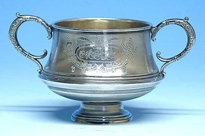 Silver sugar bowl - Moscow, Russia