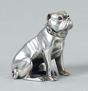 Russian silver figurine - begining 20th ct.