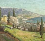 Alexei Alexandrovich KOLOSOV 1892-1972 View of Yalta