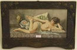 BONDAREVSKY Nikolai Kornilovich 1850-1921 Nude act