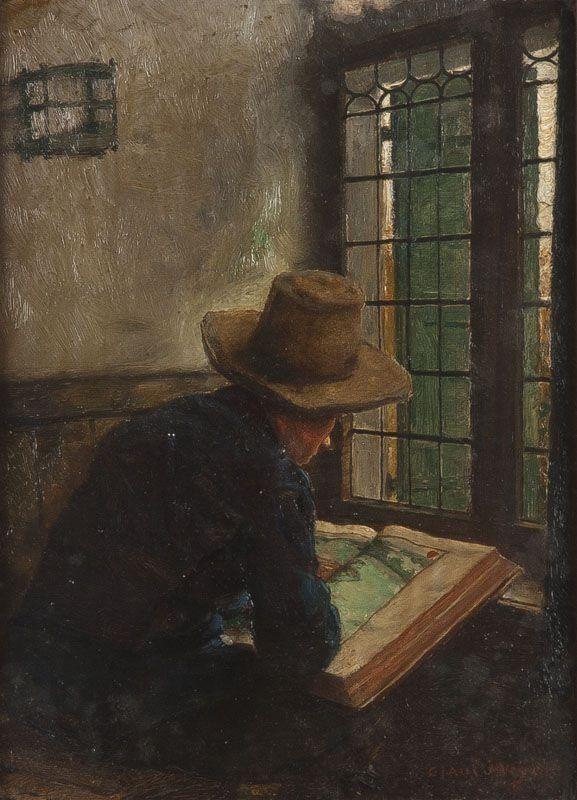 Claus MEYER  1856-1919 GERMAN INTERRIOR SCENE