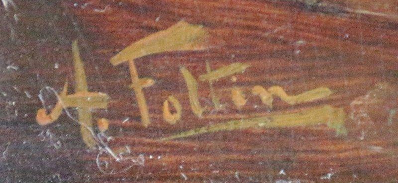 A. Foltin XIX-XX COUPLE IN ROCOCO SALON - 3