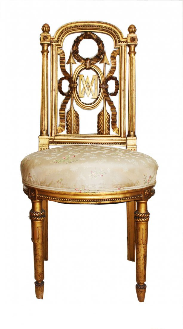 """Maire Antoniette chair in the style of """"Jacobs"""""""