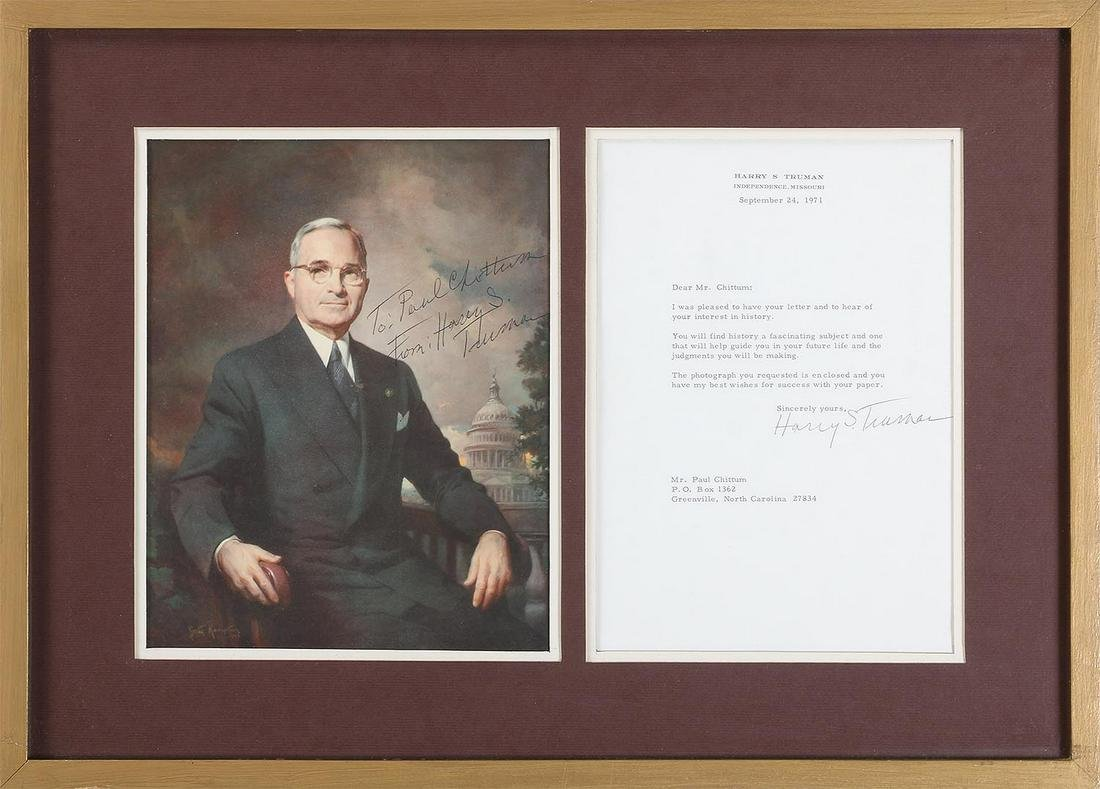 U.S. President Harry S. Truman signatures