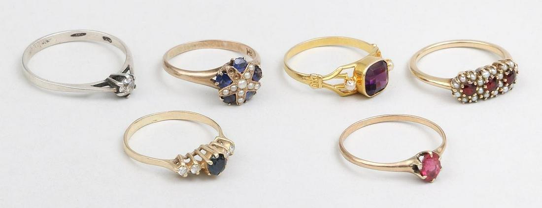 Group of (6) rings