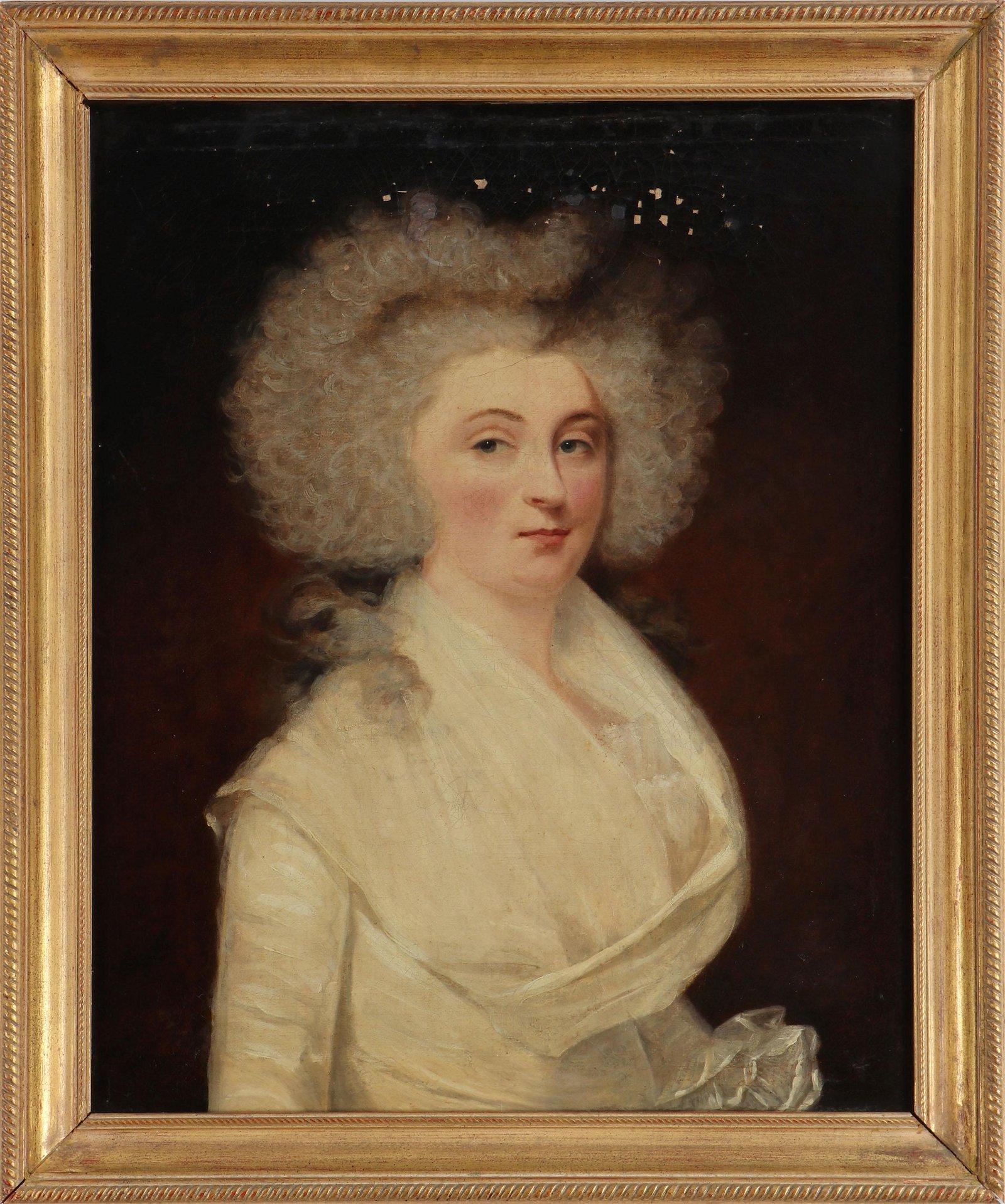 Portrait (Continental School, 18th century)
