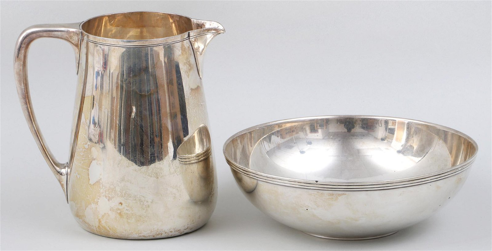 Group of (2) Tiffany & Co. Makers sterling silver