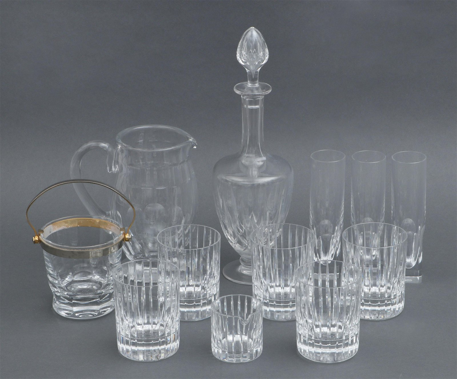 Group of (12) Baccarat glass items