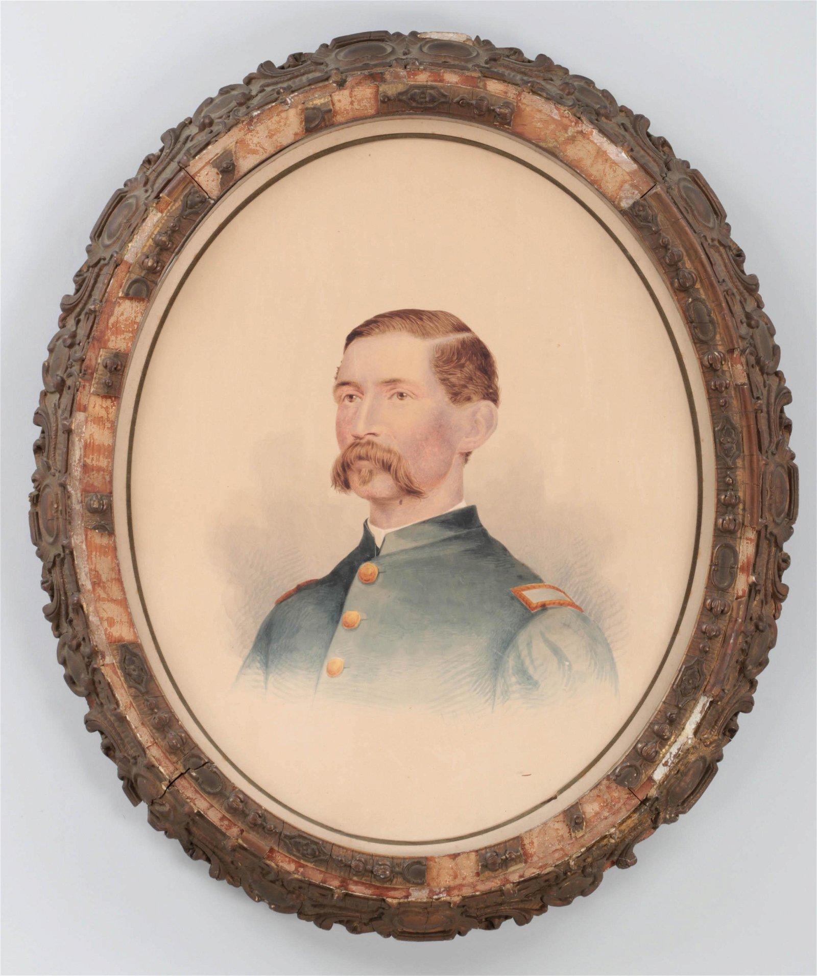 U.S. Civil war soldier portrait