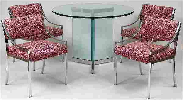 Pace Collection five-piece dining room set