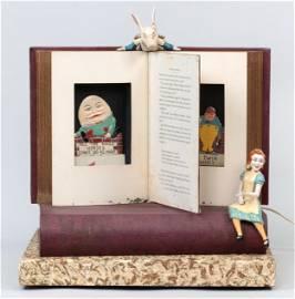 Baranger Studios Alice in Wonderland automaton