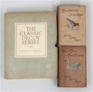 Group of (3) books