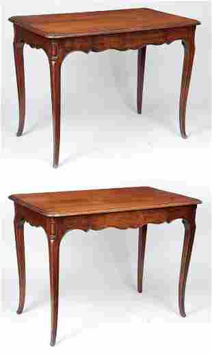 Pair of French Provincial style tables