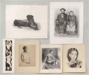 Group of (6) prints