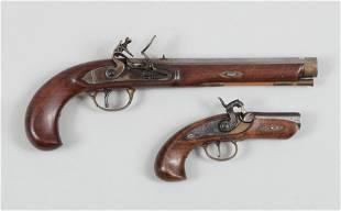 Two Black Powder Pistols