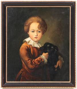18th century oil on canvas
