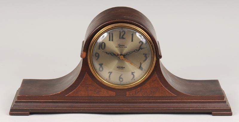 Vintage electric mantel clock