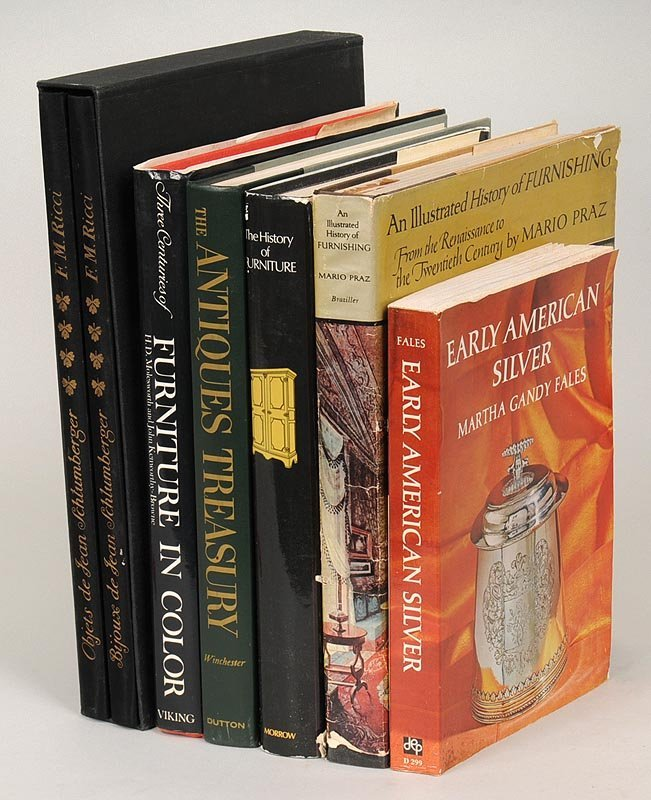 Group of (7) Books on Antiques & Decorative Arts