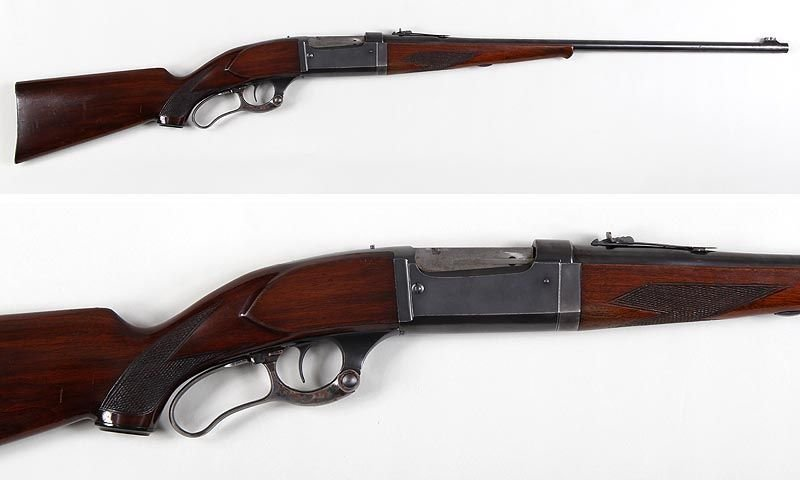 Savage Model 99 takedown lever action rifle in 300SAV,