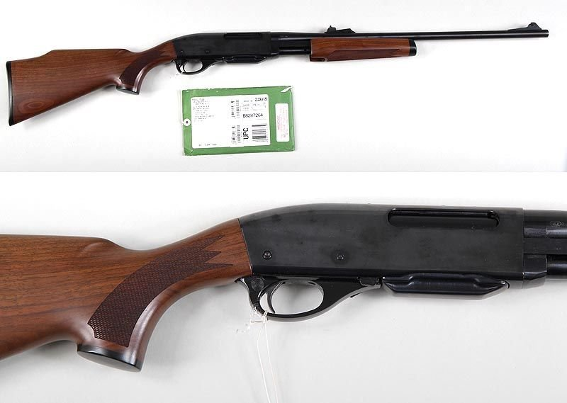 Remington model 7600 pump action rifle in 35 whelen