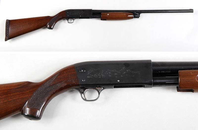 Ithaca M37 Pump Action Shotgun in 12g. 2-3/4'' with