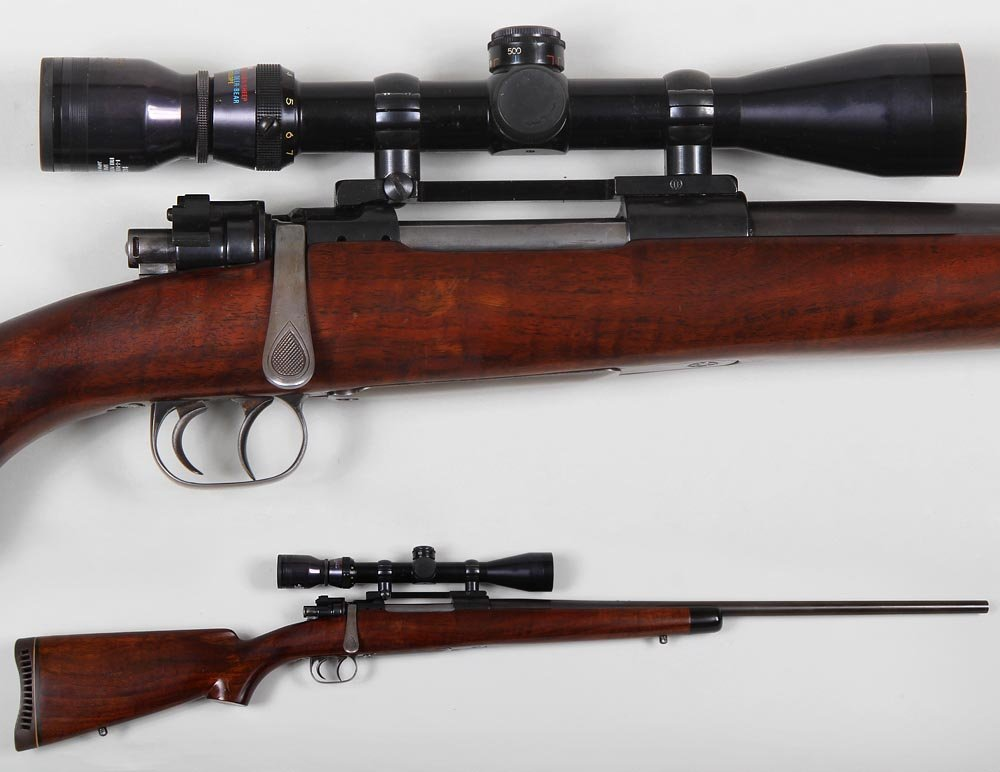 Kenneth L. Hooper custom 98 Mauser in 22-250c. Barrel